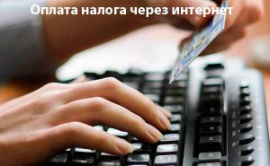 Налоги через интернет