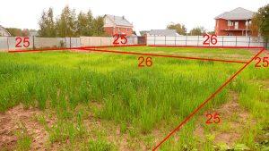 Деление земельного участка на два